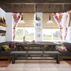 Шторы в деревенском стиле: примеры создания уютной атмосферы с помощью штор. 100 фото красивого дизайна