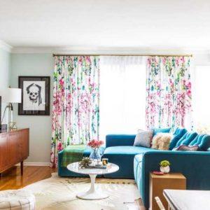Сочетание штор в интерьере: общие правила и фото красивого дизайна